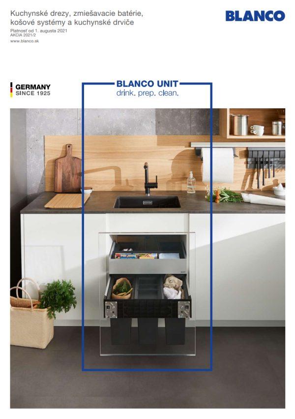 Cenník BLANCO 2021/1